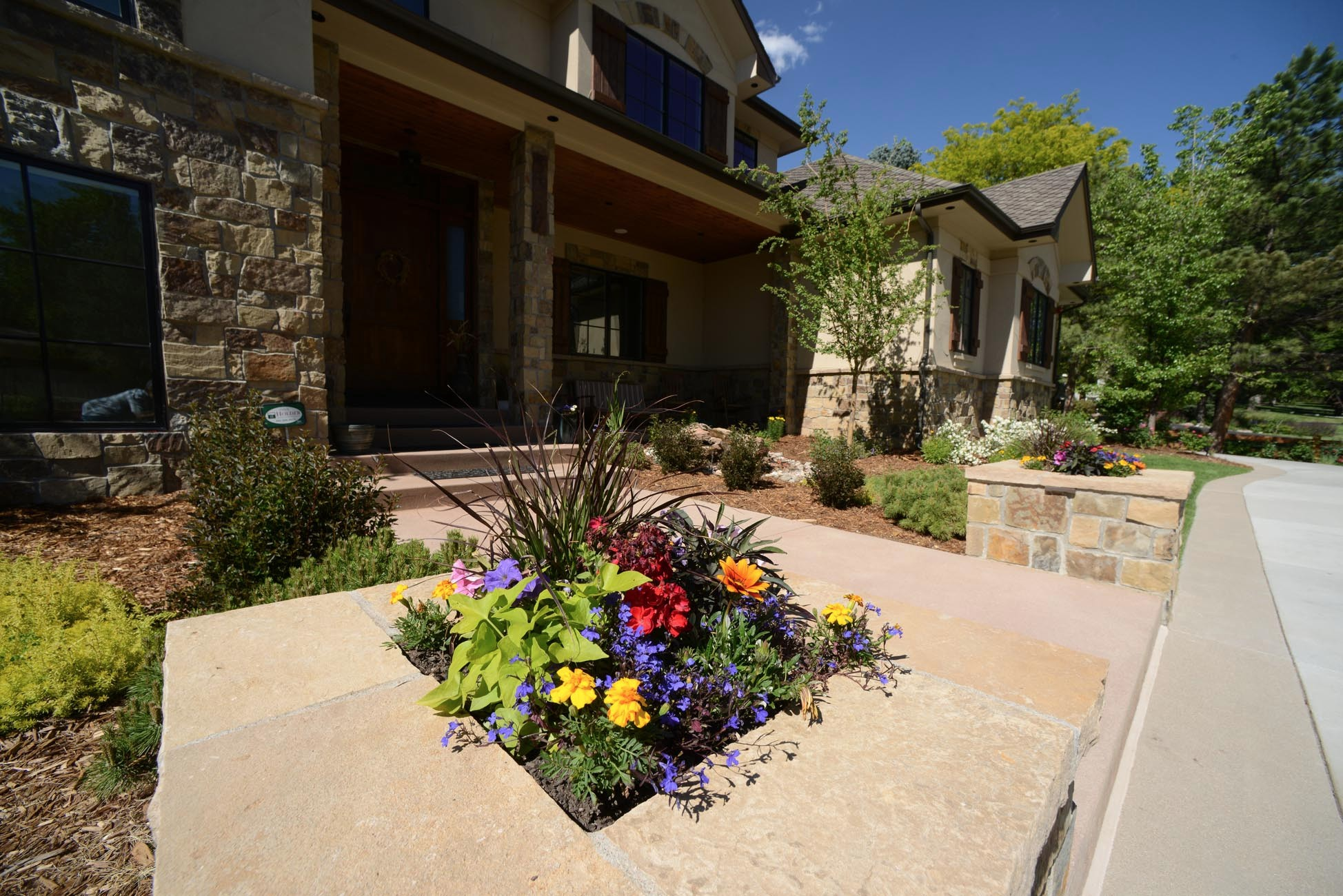 Outdoor Landscaping Design Castle Rock