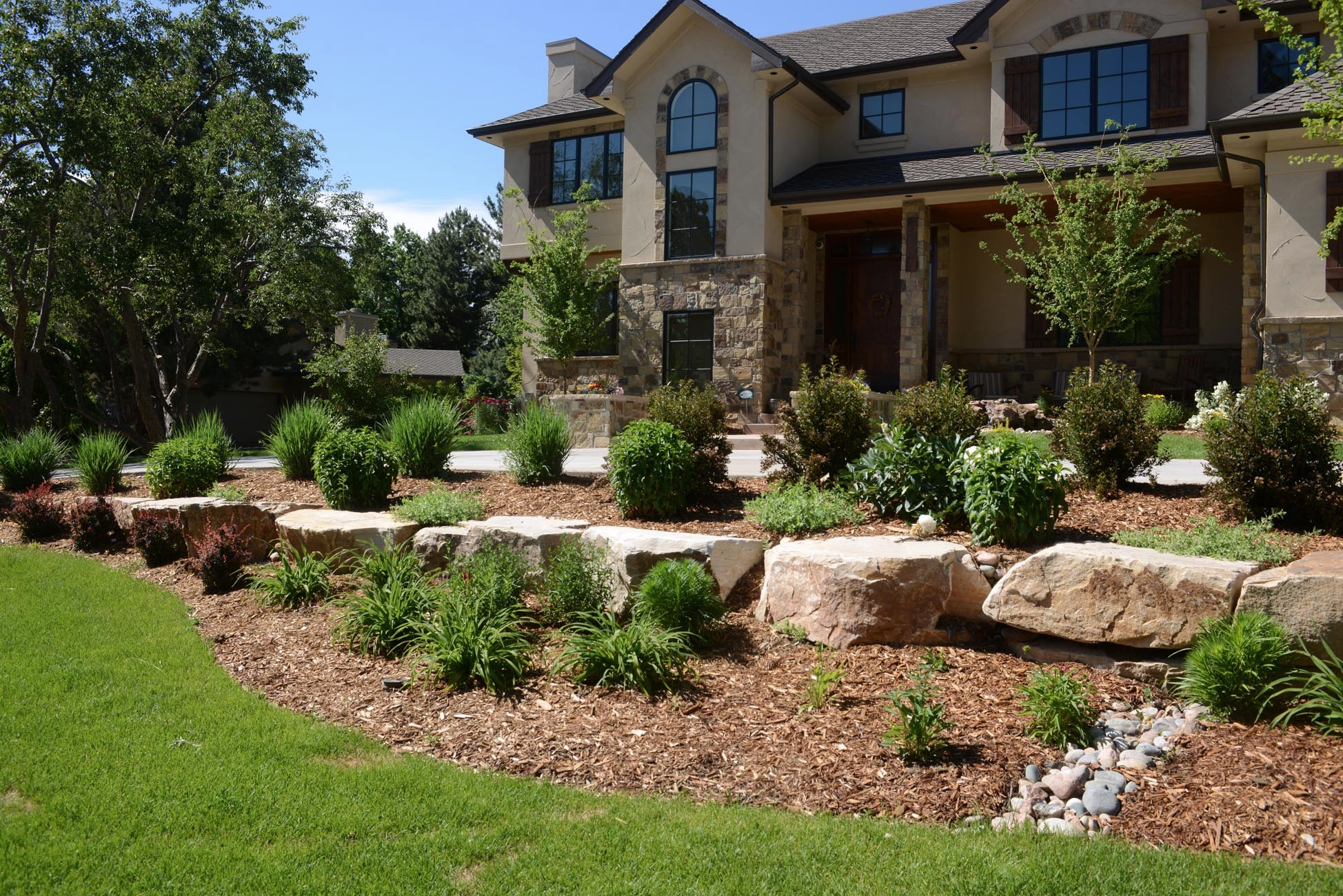 Outdoor Landscaping Design Denver