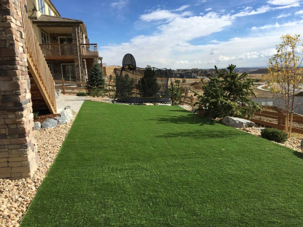 Castle Pines, Colorado Landscape Construction